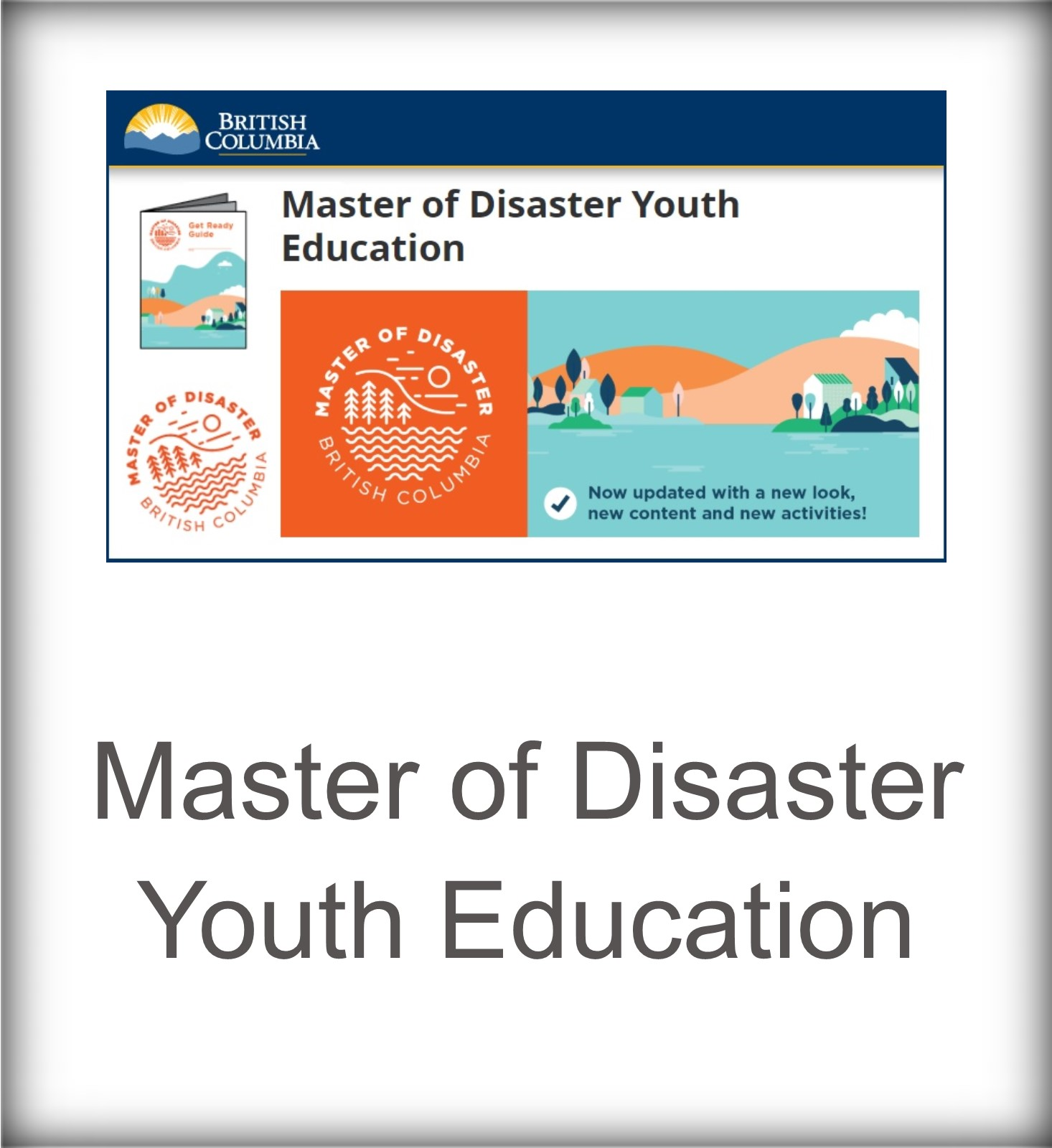 Master of Disaster Youth Education