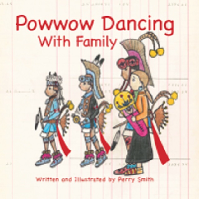 Powwow Dancing with Family