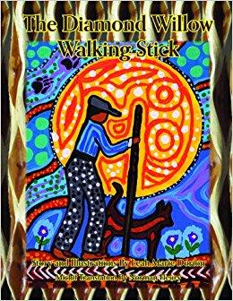 Diamond Willow Walking Stick, The