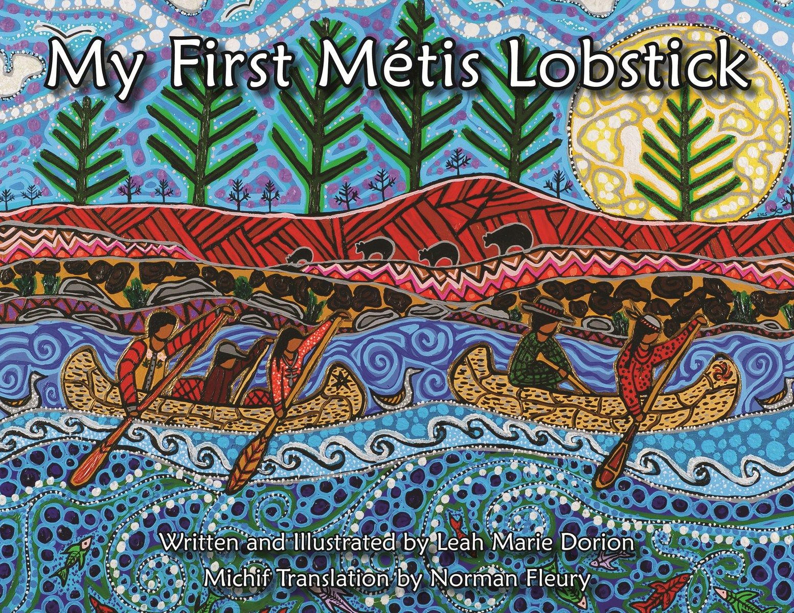 My First Metis Lobstick